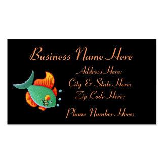 Cartão de visita Sample1 dos peixes