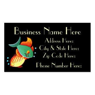 Cartão de visita Sample3 dos peixes