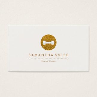 Cartão de visita Sparkling do logotipo do