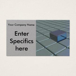 Cartão de visita Textured moderno