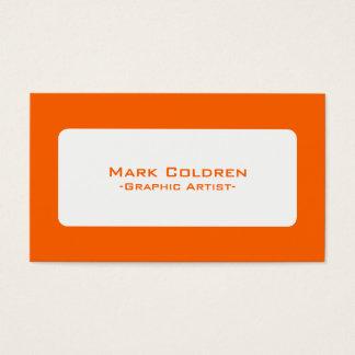 Cartão De Visitas 650 minimalistas modernos