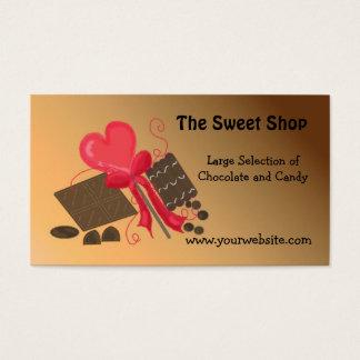 Cartão De Visitas A loja doce