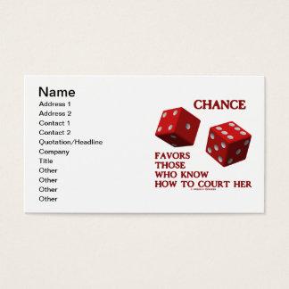Cartão De Visitas A possibilidade favorece aquelas que sabem como à