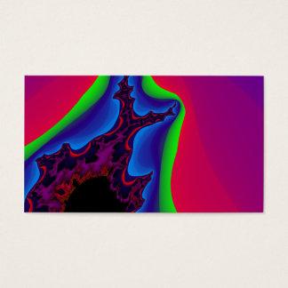 Cartão De Visitas A vida colorida