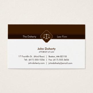 Cartão De Visitas ADVOGADO no escritório de advogados da LEI  