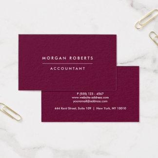 Cartão De Visitas Advogado ou profissional moderno do contador de
