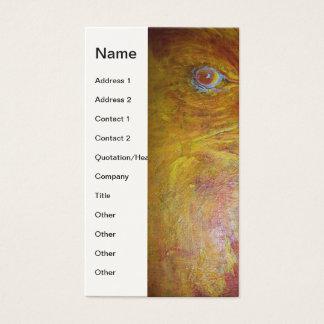 Cartão De Visitas Alma abstrata das águias americanas