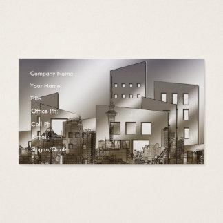 Cartão De Visitas Arquitetura moderna