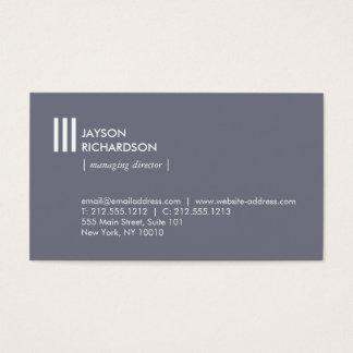Cartão De Visitas Arquitetura simples moderna, construção, design 1