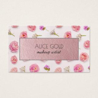 Cartão De Visitas Arranjo floral bonito