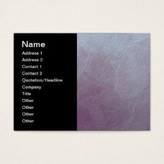 Cartão De Visitas Arte abstracta Amethyst do gelo