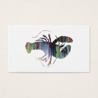Cartão De Visitas Arte da lagosta