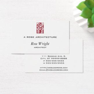 Cartão De Visitas Artes cor-de-rosa & ornamento dos artesanatos