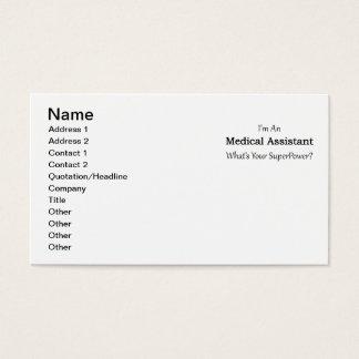 Cartão De Visitas Assistente médico