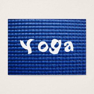 Cartão De Visitas Assoalho pegajoso azul da esteira & da madeira da