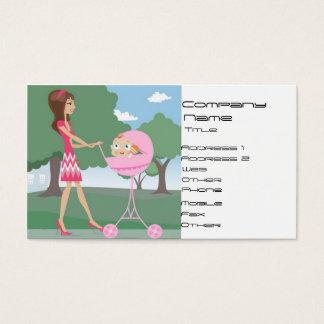 Cartão De Visitas Baby-sitter de bebê, baby-sitter