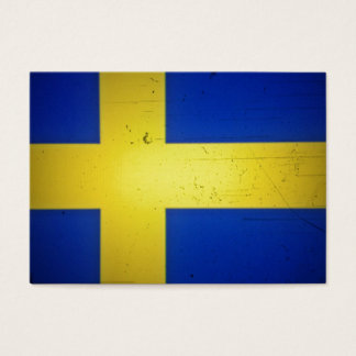 Cartão De Visitas Bandeira sueco