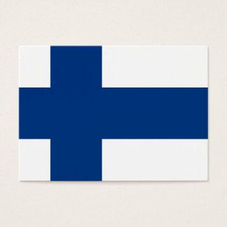 Cartão De Visitas Bandeiras de Finlandia