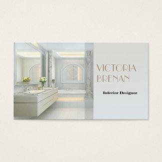 Cartão De Visitas Banheiro da luz da mobília do designer de