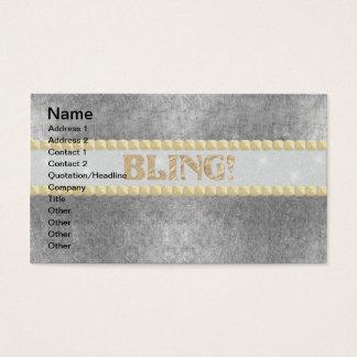 Cartão De Visitas Bling na moda! Design