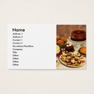 Cartão De Visitas Bolos e doces