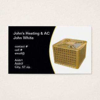 Cartão De Visitas bomba de calor exterior