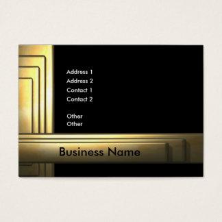 Cartão De Visitas business_gold_big