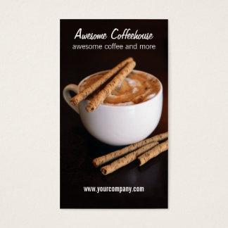 Cartão De Visitas café