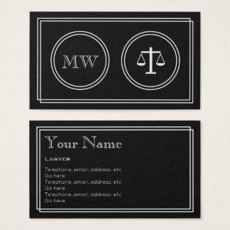 """Cartão De Visitas """"Cartões de visitas do advogado do filme"""