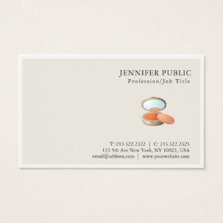 Cartão De Visitas Chique elegante profissional moderno do salão de
