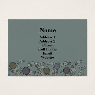 Cartão De Visitas Círculos cinzentos