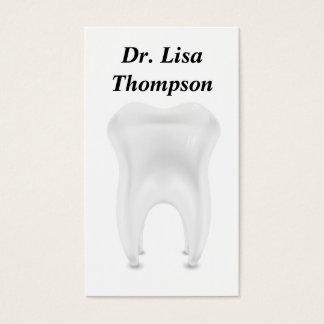 Cartão De Visitas Clínica privada dental do doutor Médico do