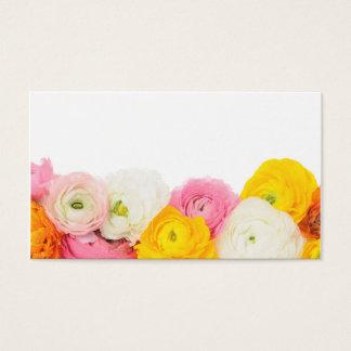 Cartão De Visitas Composição floral bonita