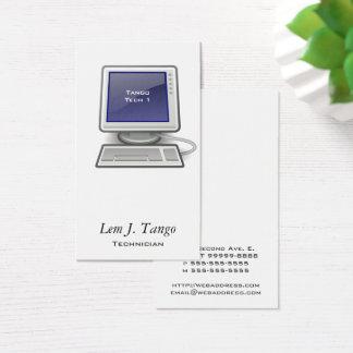Cartão De Visitas Computador