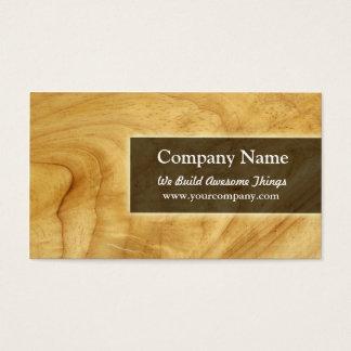 Cartão De Visitas construção/carpintaria
