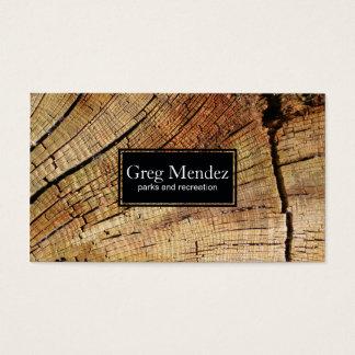 Cartão De Visitas Corte a madeira