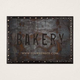 Cartão De Visitas Cozinheiro chefe pessoal quadro do vintage da