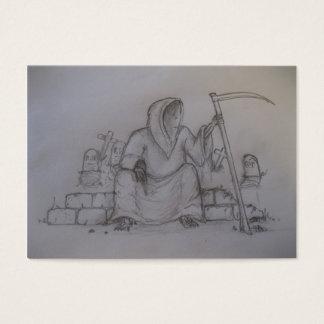 Cartão De Visitas Cromo de colecção do Ceifador
