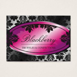 Cartão De Visitas damasco da trufa de 311-Sweet Blackberry