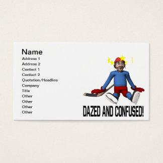 Cartão De Visitas Dazed e confundido