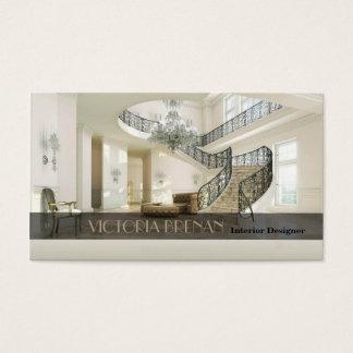 Cartão De Visitas Decoração da sala de visitas da mobília do