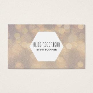 Cartão De Visitas Design borrado brilhante