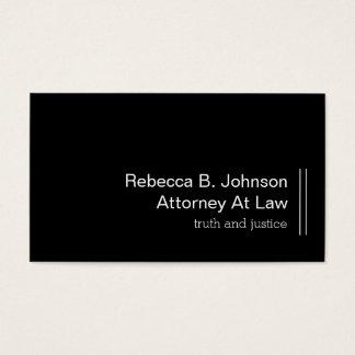 Cartão De Visitas Design profissional do advogado