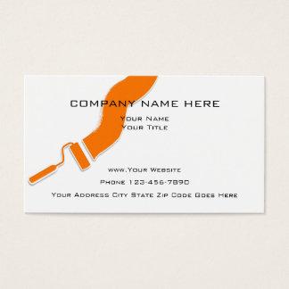 Cartão De Visitas Design simples do pintor