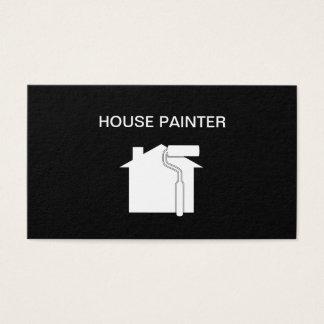 Cartão De Visitas Design simples do pintor de casa