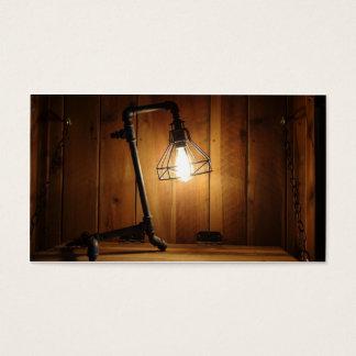 Cartão De Visitas Desperdício não Upcrafts - loja da iluminação