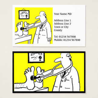 Cartão De Visitas Doutor ou profissional médico
