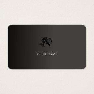 Cartão De Visitas Elegante