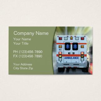 Cartão De Visitas Emergência médica do EMS