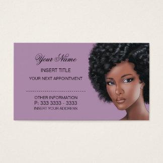 Cartão De Visitas Erva da lavanda - nomeação da beleza